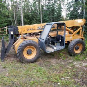 Telehandler Zoom Boom Forklift